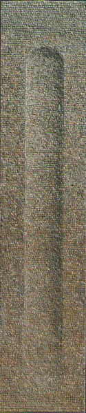 Della memoria | cm. 190 x 40 | 2003