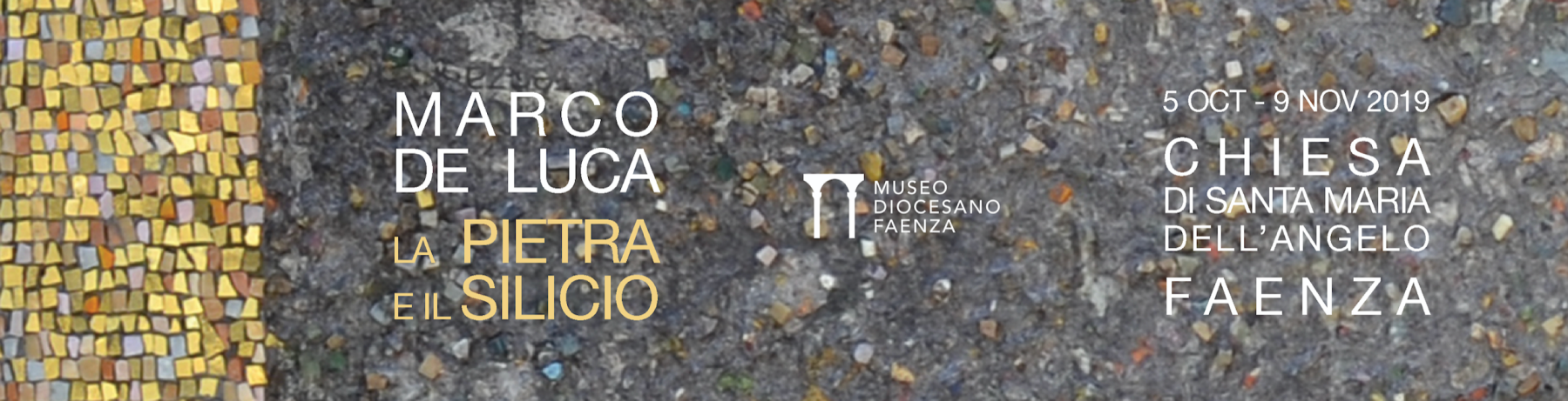 marco del luca Pietra e Silicio Faenza